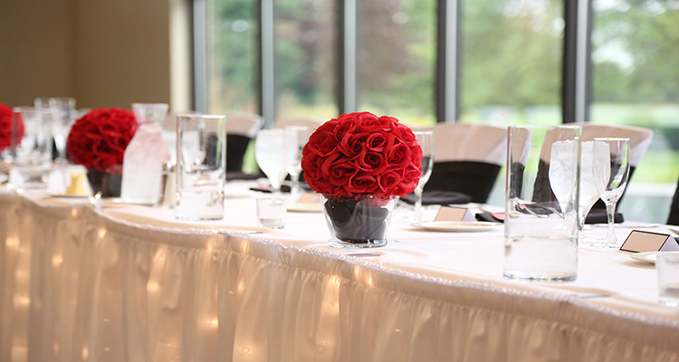 Grandville Headtable Sunnybrook Wedding